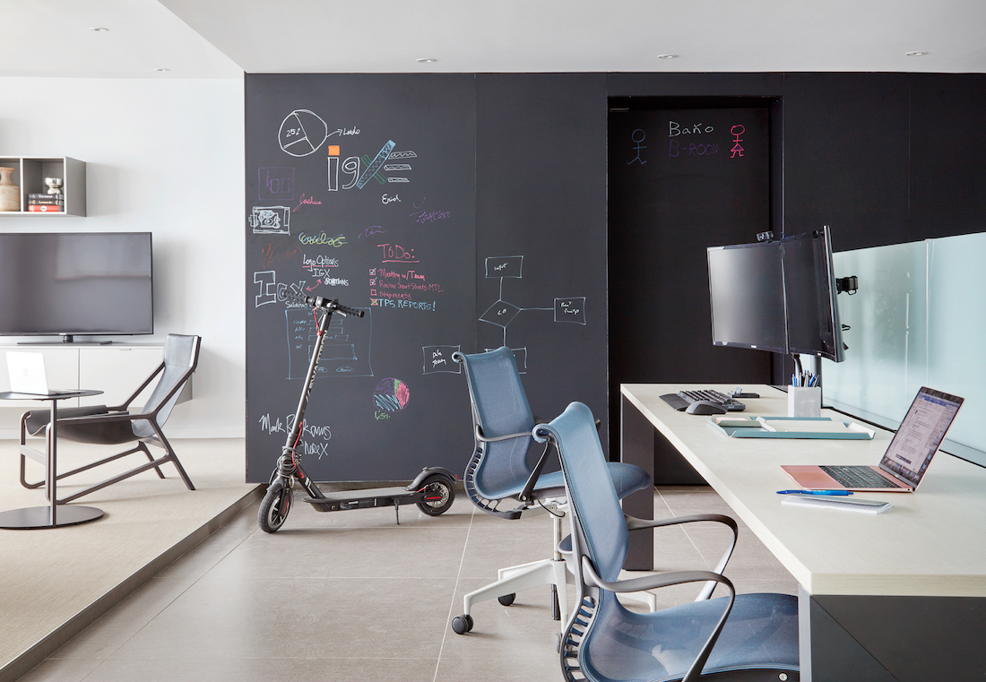 chalkboard-dry-erase-wall-office-design-puetro-rico